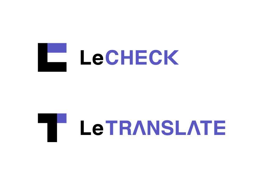 リチェックおよびリトランスレイトロゴ